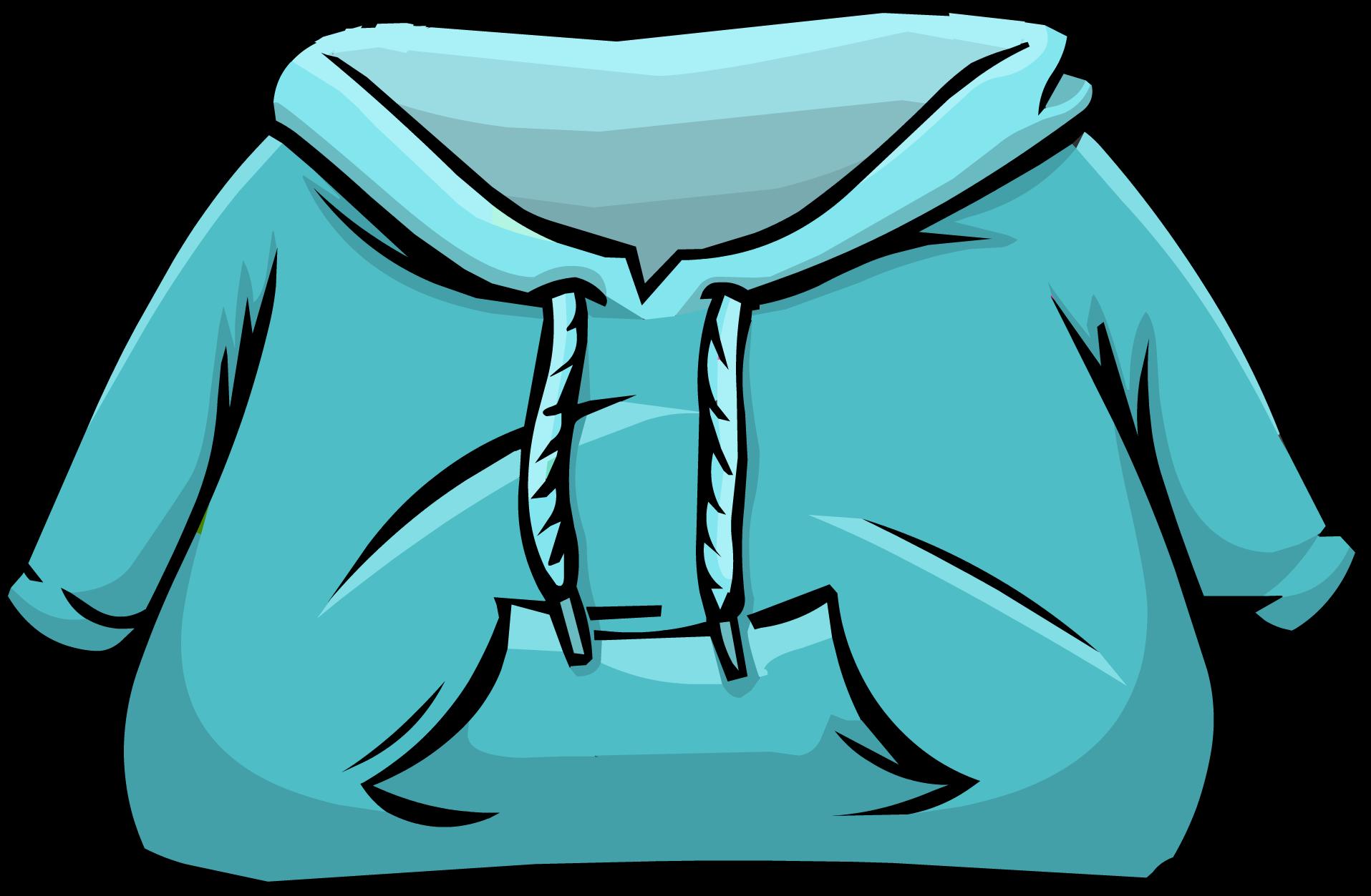 Aqua Hoodie