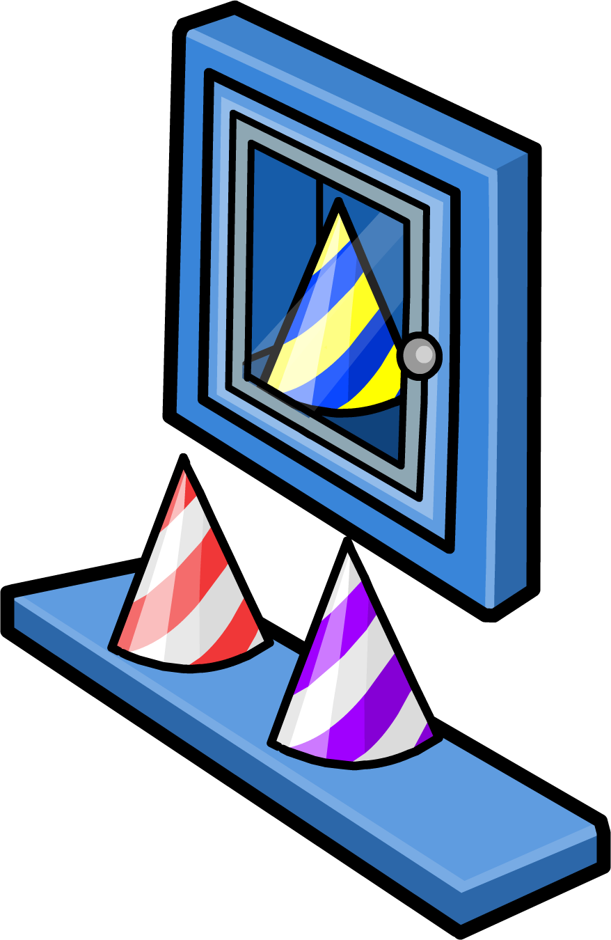 2nd Anniversary Party Hat