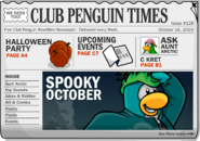 Club Penguin Times Issue 128