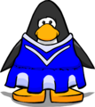 Blue Cheerleader Outfit PC