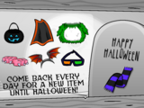 Halloween Party Interface