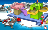 Puffle Party 2020 Dock