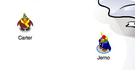 Jernopenguin/club penguin rewritten beta testers met