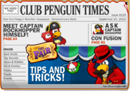 Club Penguin Times Issue 125