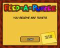 Feed-A-Puffle End Screen