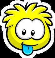 Yellow Puffle Pin