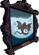 Bat Puffle Painting