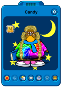 Candy Player Card - Early January 2020 - Club Penguin Rewritten.png
