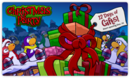 Christmas party login sneak peek
