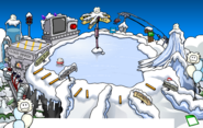 Puffle Party 2020 Ski Hill