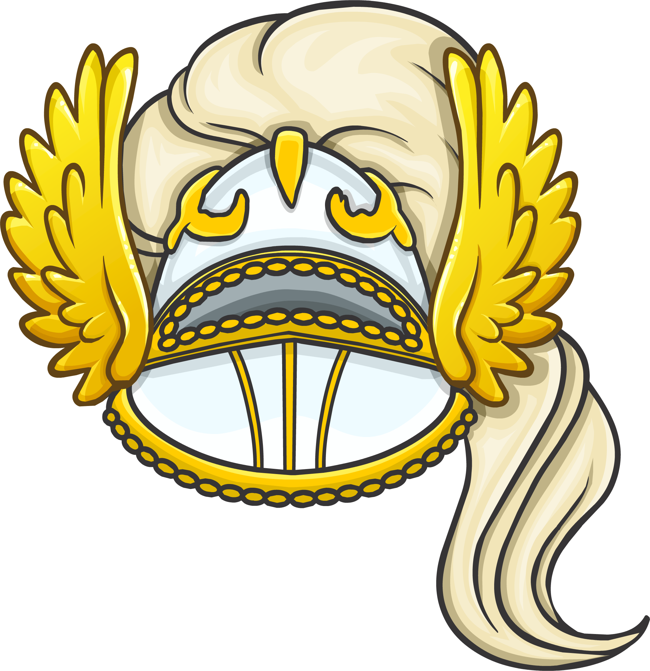 White Knight Helmet