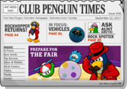 Club Penguin Times Issue 28