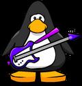 Purple Electric Bass PC