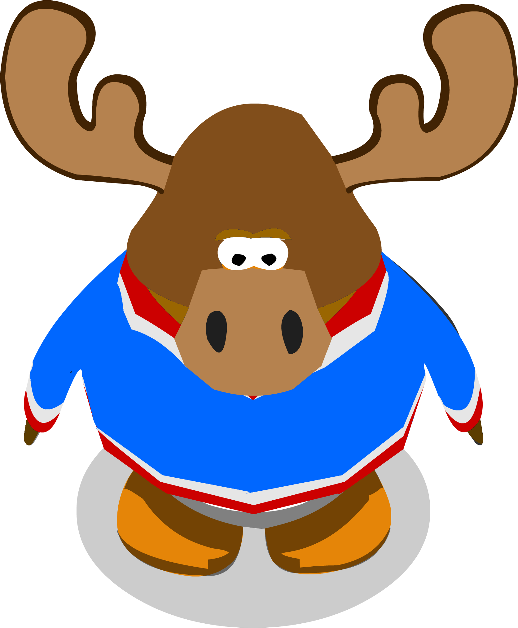 Zeus the Moose