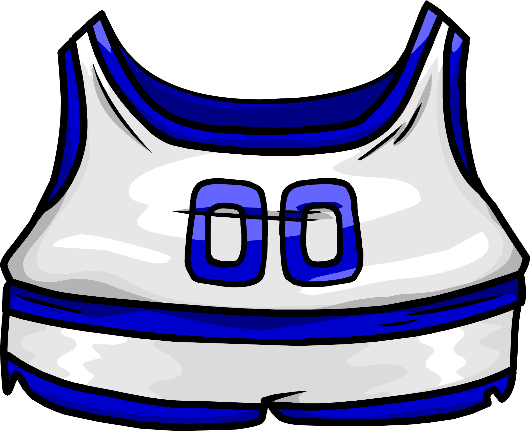 Blue Track & Field Uniform