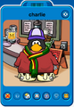 Charlie Player Card - Mid April 2020 - Club Penguin Rewritten