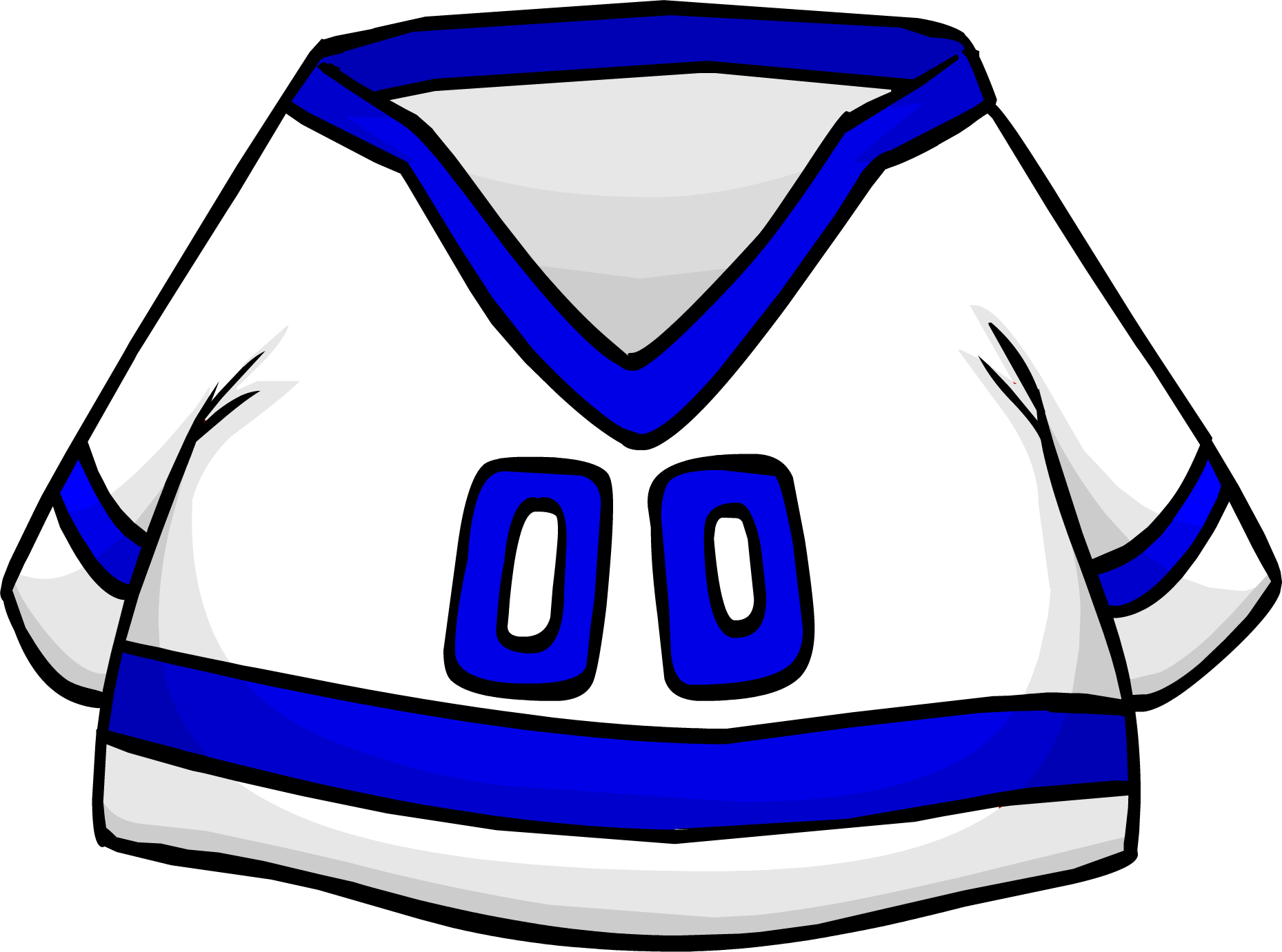 Blue Away Hockey Jersey
