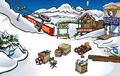 Penguin Games construction Ski Village