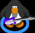 Purple Electric Bass IG