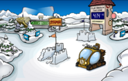 Prehistoric Party construction Snow Forts 2