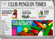 Club Penguin Times Issue 73