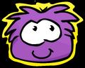 Purple Puffle Pet Shop Sign
