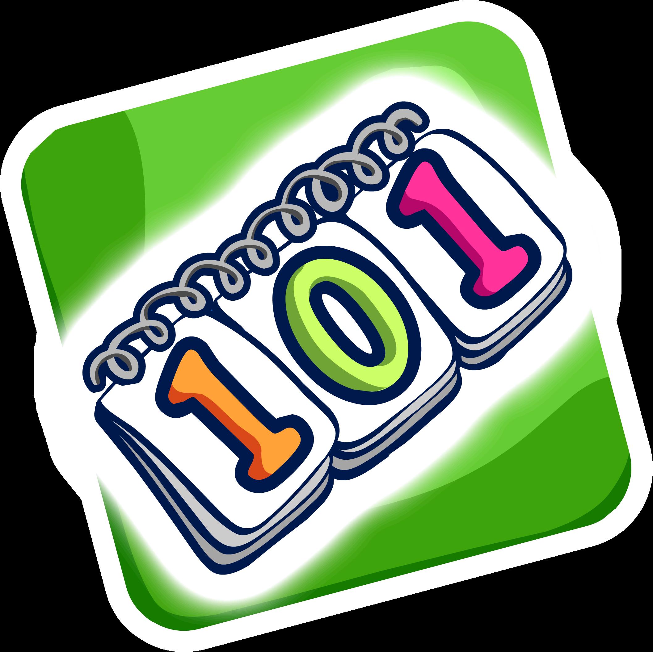 101 Days Of Fun Pin