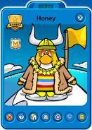 Honey Player Card - Mid April 2021 - Club Penguin Rewritten (2)