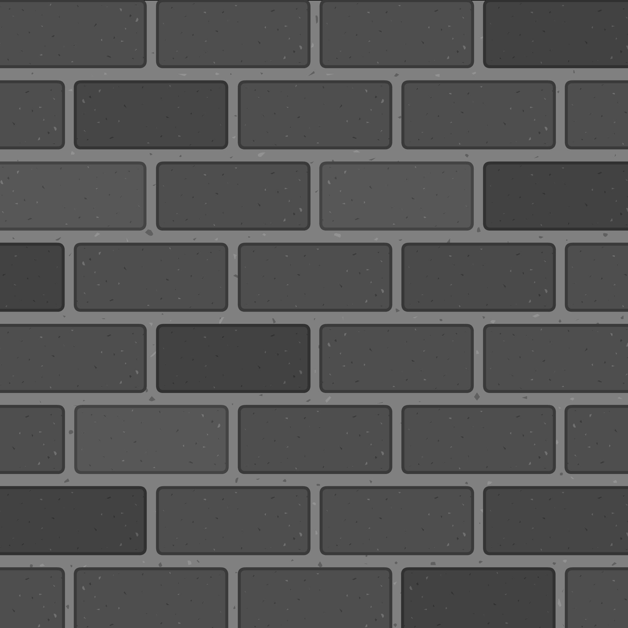 Black and White Brick Background