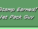 Jet Pack Guy Stamp