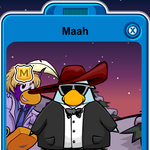 Maah Player Card - Late March 2020 - Club Penguin Rewritten.png