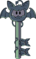Bat Puffle Spooky Key
