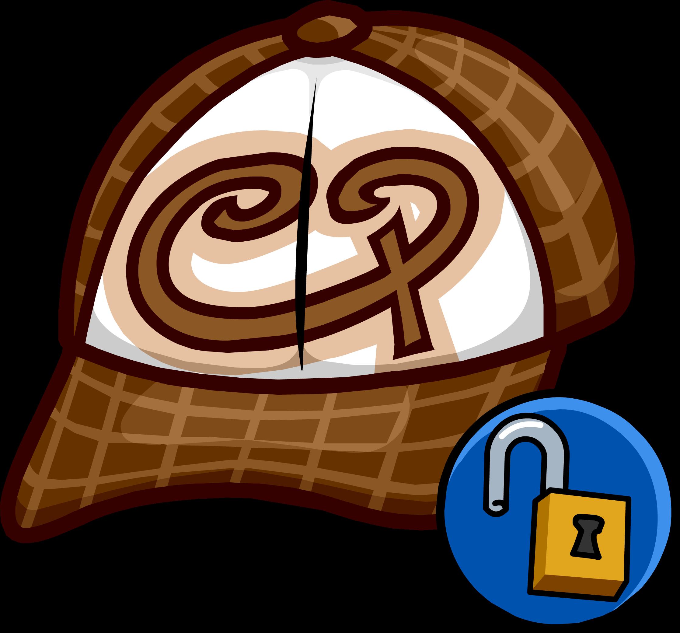 Brown Skater Hat
