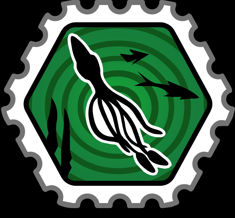 Squid Spotter Stamp