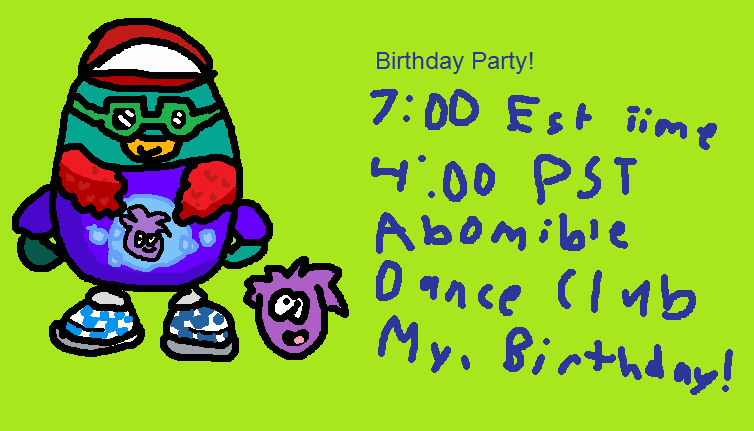 IttisyoboiTaco/My Birthday PArty!