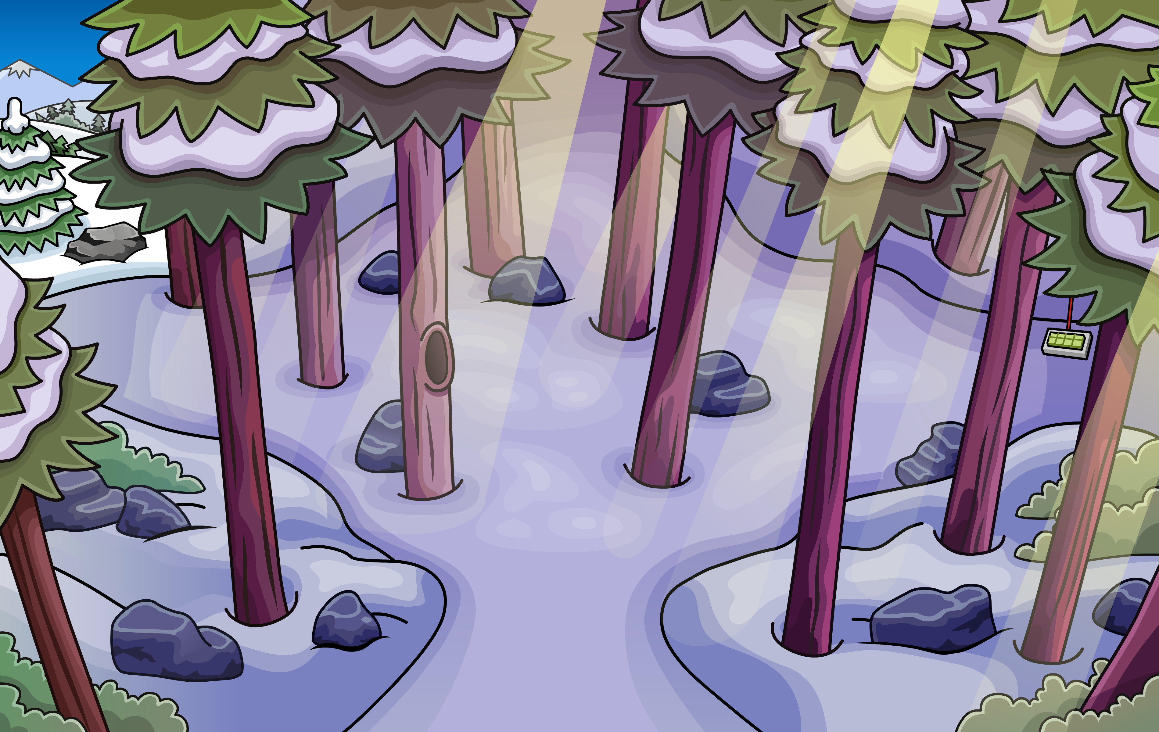 Wilderness Rooms