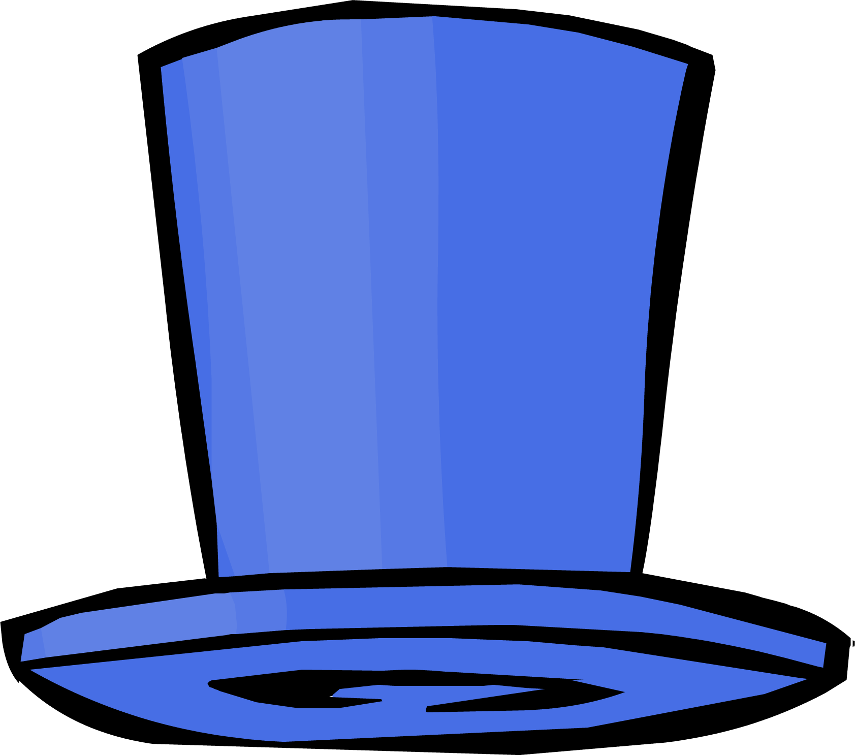 Dark Blue Top Hat