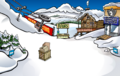 April Fools Party 2019 Ski Village constuction