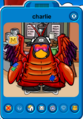 Charlie Playercard - Early April 2020 - Club Penguin Rewritten