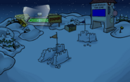 Island Eclipse Snow Forts