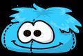 Blue Puffle Bean Bag sprite 002