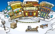 Submarine Party construction Plaza