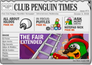 Club Penguin Times Issue 74