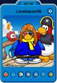 Lovebacon56 Player Card - Late March 2020 - Club Penguin Rewritten