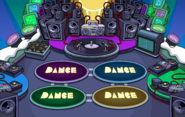 Waddle On Night Club Rooftop