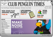 Club Penguin Times Issue 105