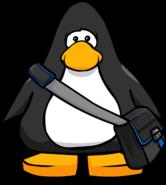 Black Messenger Bag PC
