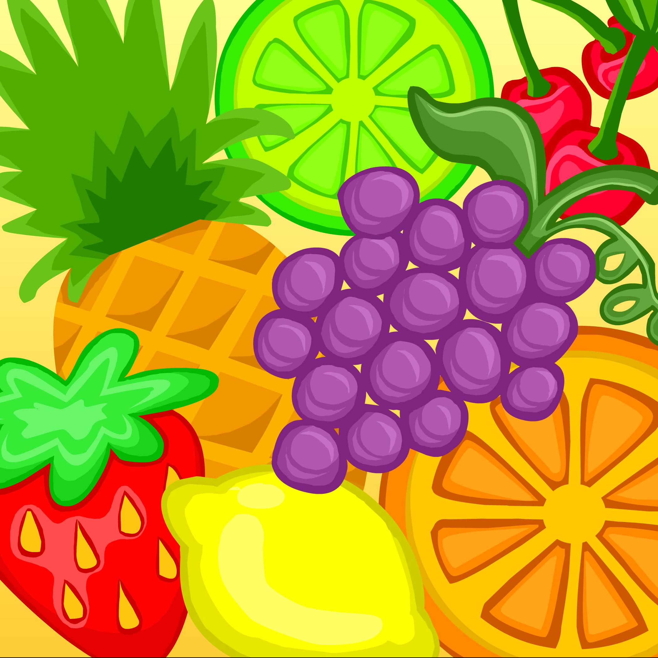 Fruit Frenzy Background