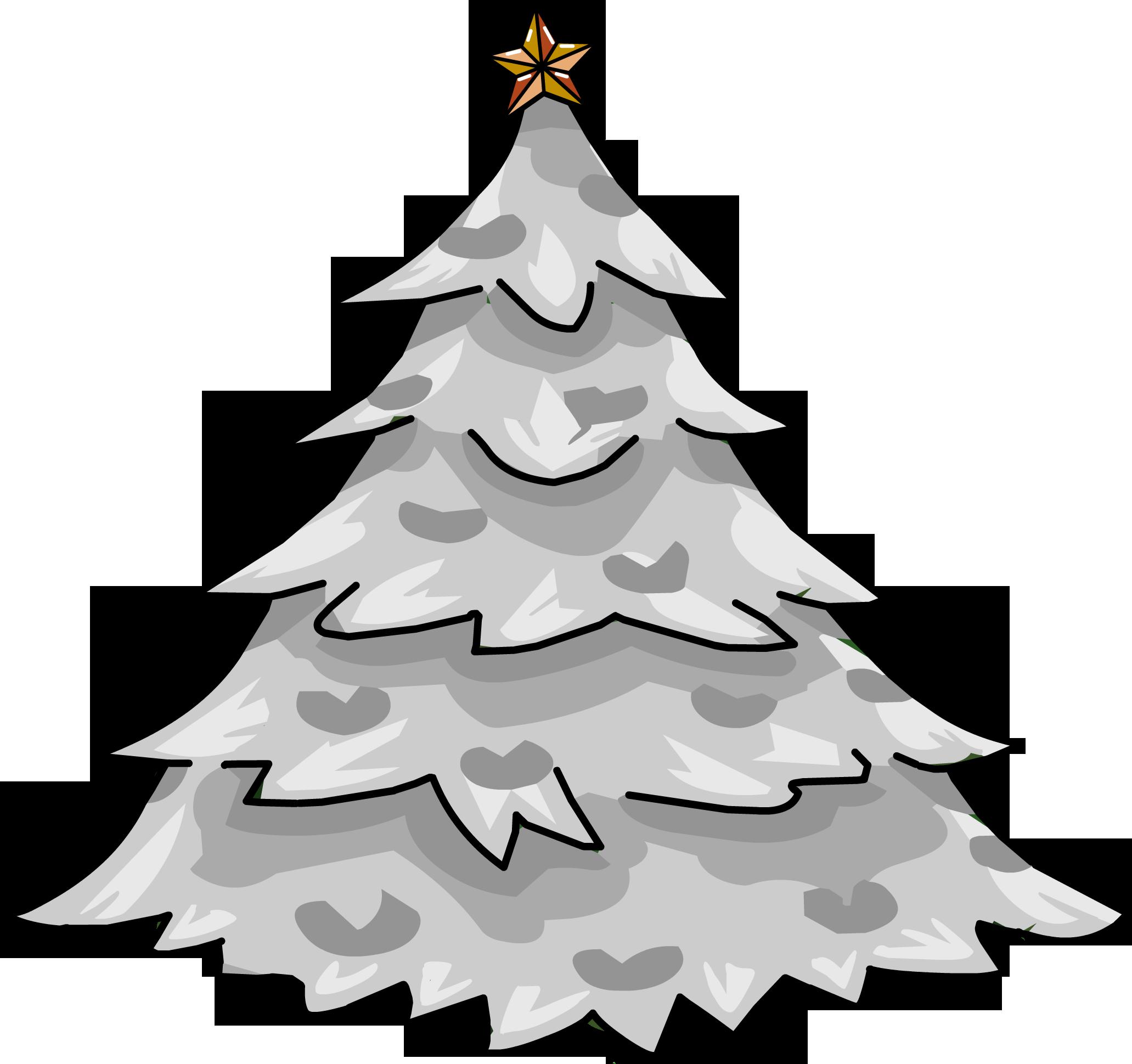 Silver Holiday Tree