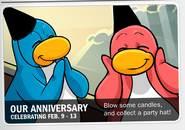 3rd Anniversary Party Announcement